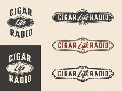 Cigar Life Radio Logos cigar wrap radio life vintage logo