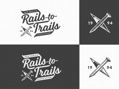 NM Rails-to-Trails Logo positive/negative