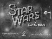 Star Wars Old Film Titles (part II)