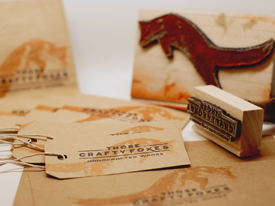 Those Crafty Foxes Stamps