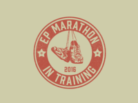 El Paso Marathon Training Shirt graphic