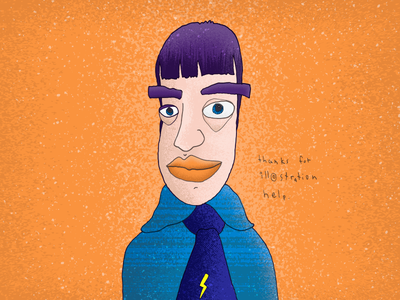 Weirdo with color weirdo illustration drawing line color texture