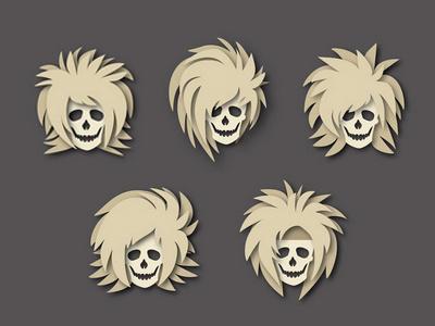 Drag Me to the Grave. icon design poster design graphic design vector illustration hard rock black veil brides