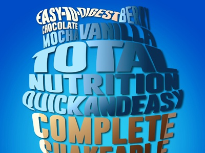 WordArt. advertisement product promotion graphic design illustration typographical illustration
