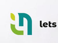 LetsNurture Logo variation