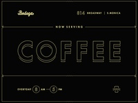 Bodega, Now Serving Coffee