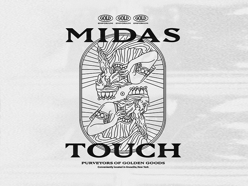 Midas Touch By Ben Biondo On Dribbble