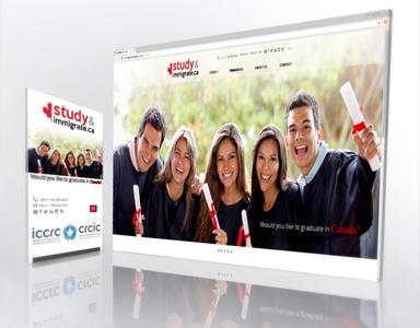 UI Website redesign - Study & Immigrate