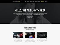 Lightmaker.com Redesign