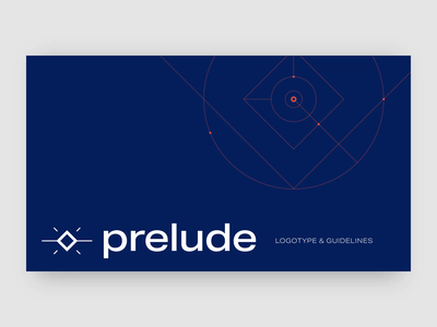 Guideline branding Prelude identity corporate automation brand identity design epic logotype guideline logo branding