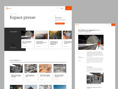 RESA - press article page slider epic webdesign corporate design website news corporate