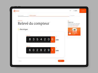 RESA - electric meters ipad website epic design ui electricity supply energy corporate webdesign
