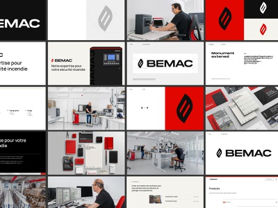 BEMAC - guidelines website epic agency fire red print guidelines photography corporate logo design branding