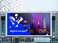 Digital Europe - branding