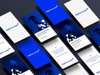 Digital Europe - business card