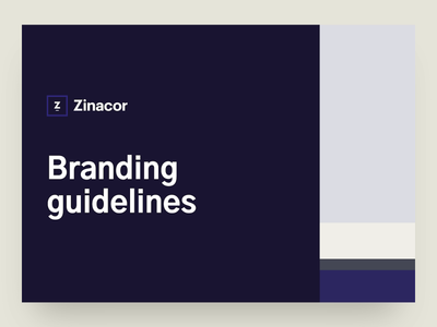 Guidelines for Zinacor