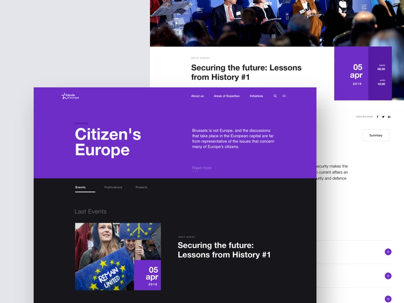 Friends of Europe - Citizen's Europe