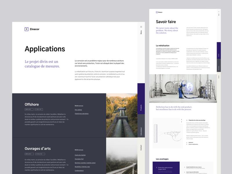 zinacor - applications