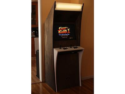The Arcade Machine arcade machine street fighter ii cnc