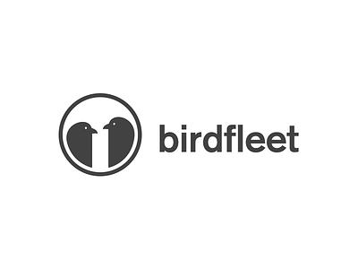 Birdfleet logo akzidenz birds logo