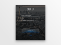 Sign Up Screen - #001