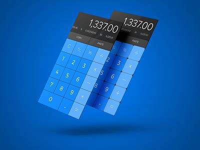 Calculator - #004 100dayui dailyui 004
