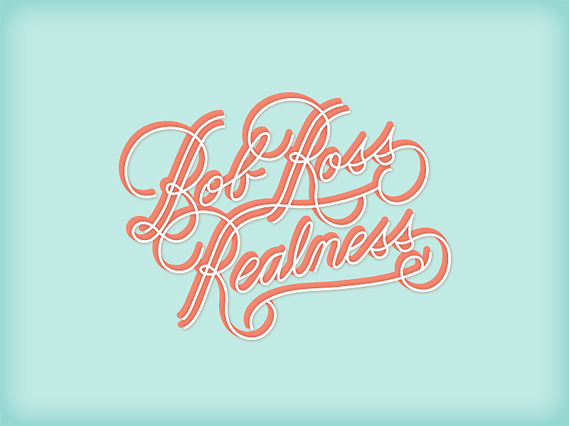Realness queer eye jvn hand-lettering lettering typography