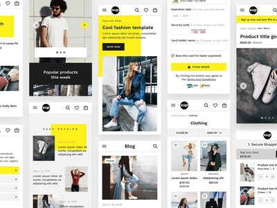 SUP - Fashion Ecommerce UI Kit