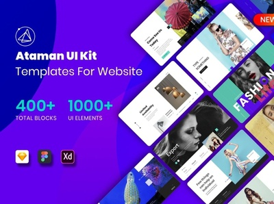 Ataman UI Kit - Template For Website