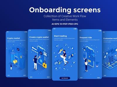 15 App Screens various topics