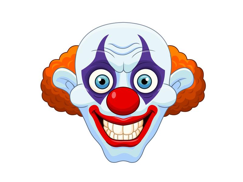 Cartoon clown by Tigatelu on Dribbble