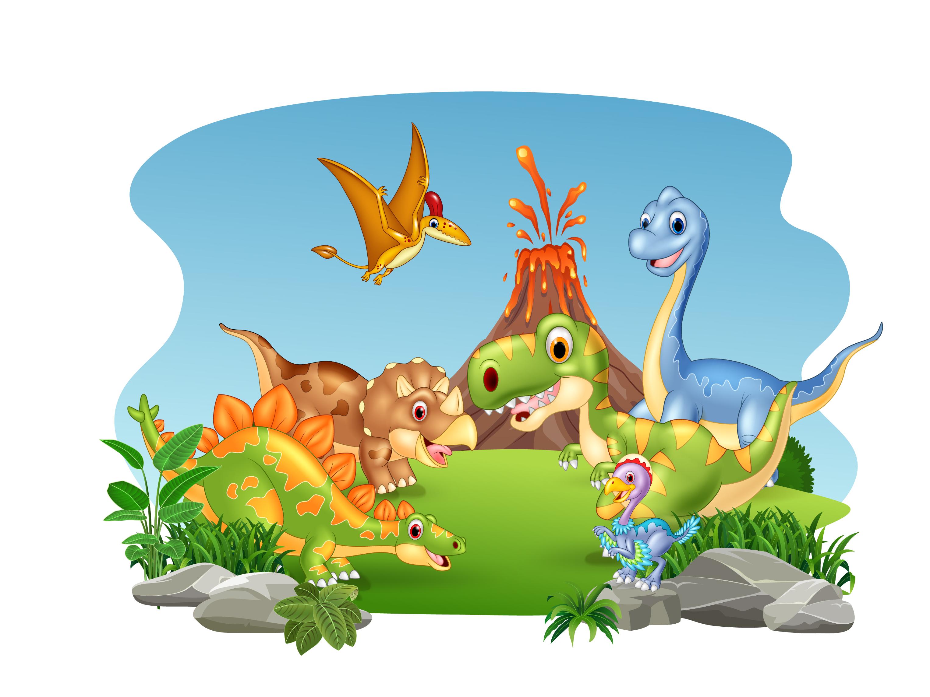 Image result for cartoon dinosaur pics