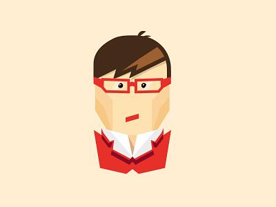 Grumpy Designer mark logo illustration dribble grumpy designer pastels hero character illustrator vector
