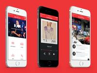 Radio App Design