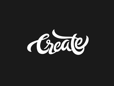 Create : Lettering create design logo calligraphy handlettering typography lettering
