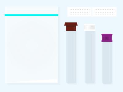 Specimen Kit specimen kit test kit test tubes medical