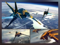 Space Fighter concept.