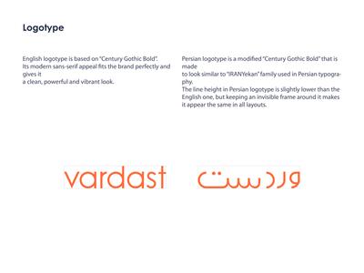 Vardast SaaS Startup - Logotype