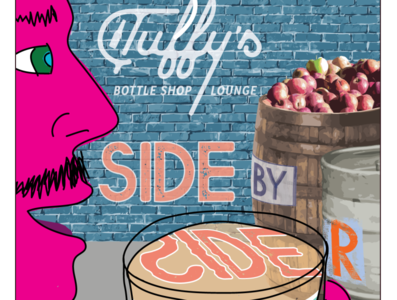 Tuffy's Side by Cider Poster