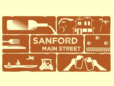 Sanford Main Street Logo
