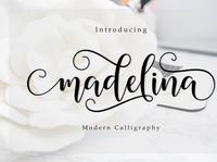 Font Madelina Script
