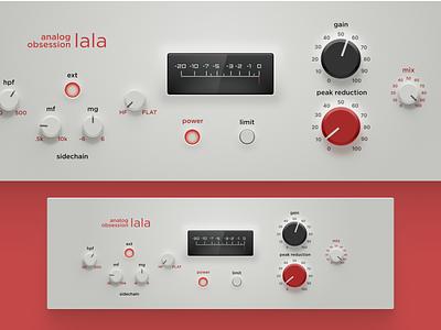 "LALA ""Modern"" skin vst plugin desktop ui sound design ui skin vst skin daw audio plugin vst plugin beatmaker music production music audio analog compressor ui"