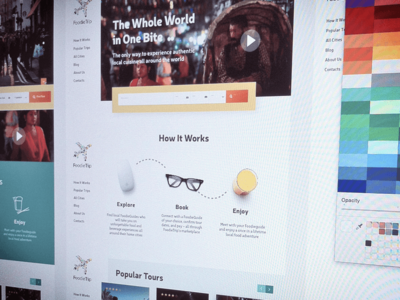 New Travel Project sketchapp prorotype process travel website flat ui web webdesign