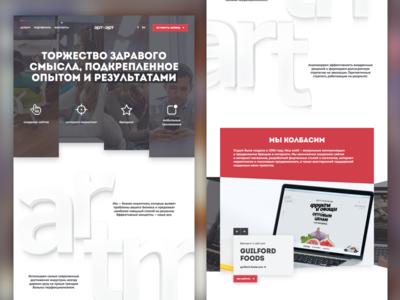 Index slideshow typography landing flat sketchapp ui web uidesign webdesign