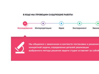 Steps flat process sketchapp icon inforgraphics webdesign web
