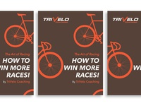 """""""The Art of Racing: How to Win More Races!"""" Book Cover design"""