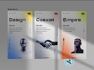 Visual Exploration website webdesign web plane plant icon design