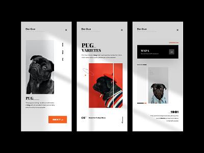 PUG Visual - Part 01 webdesign web 图标 logo illustration ux app ui icon design
