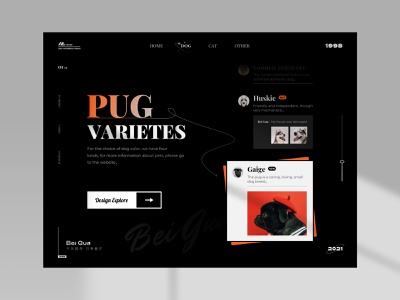 PUG Varietes website design web design webdesign website web logo illustration ux app ui icon design