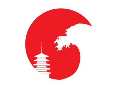 Japan Tsunami japan quake tsunami relief illustration
